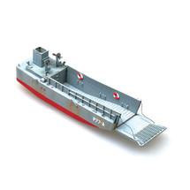 LCM3 Landing Craft USN Vehicle Mechanical