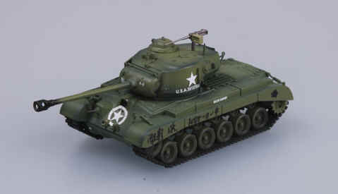 1//72 WWII American M26 Pershing Heavy Tank US 8th Armored Div Easy Model 36200