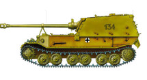 Sd.Kfz.184 Elefant German Army sPzJgAbt 653, #134, Orel, 1943