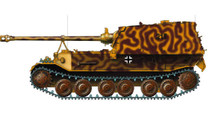 Sd.Kfz.184 Elefant German Army sPzJgAbt 653, #213, Kursk, USSR