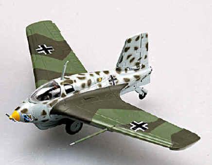 W.Nr.191659 Yellow 15... Messerschmitt Me163 B-1a Komet - Easy Model 1:72