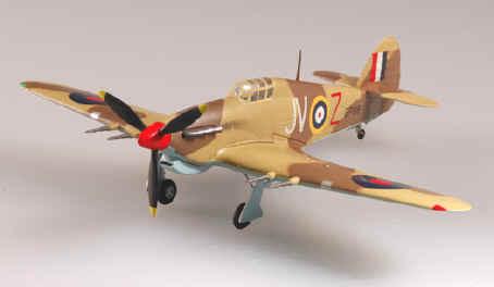 Easy Model 1//72 Hurricane Mkii 87 Sqn 1942 # 37241