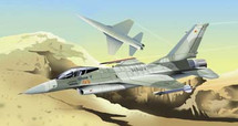 F-16 Falcon US Navy Top Gun Aggressor