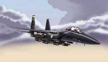 F-15 Strike Eagle US Air Force Desert Storm