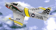F-86 Sabre US Air Force Korean War Aces