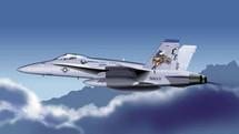 F-18 Hornet US Marine Corps VMFA