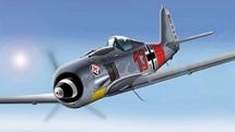 FW-190 Luftwaffe II./JG 1 WWII