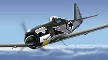 FW-190 Luftwaffe WWII