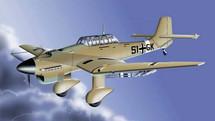 JU-87 Stuka Luftwaffe WWII Desert