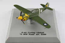 P-40 Curtiss US Army Air Force Yellow Cat Head