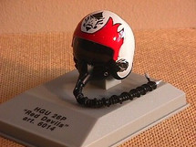 Pilot Helmet Red Devils 1:8 Scale Franklin Mint