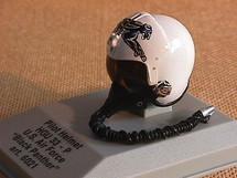 Pilot Helmet Black Panther 1:8 Scale Franklin Mint