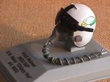 Pilot Helmet Chippy Ho 1:8 Scale Franklin Mint