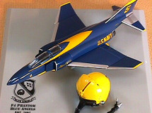 F-4 Aircraft & Helmet US Navy Blue Angels