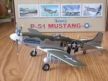"P-51D Mustang USAAF WW II ""Hunter Texas"""