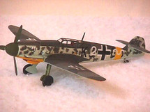 """BF-109 Messerschmitt Luftwaffe """"Hartman"""""""
