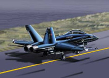 F/A-18 Hornet US Navy Top Gun Two-Seater