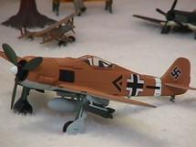 FW-190 Focke-Wulf Luftwaffe Dickfeld