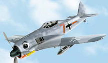 FW-190 Focke-Wulf Luftwaffe 5./JG1 Holland 1942