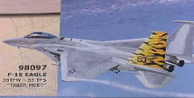 "F-15 Eagle USAF 53TFS ""Tiger Meet"""