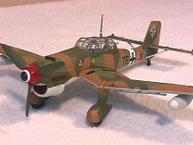 "JU-87B-2 Stuka Luftwaffe ""Tropical"" Camo"