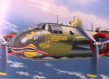 B-25D Mitchell Hell`s Fire