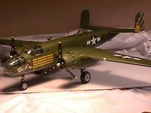 """B-25C Mitchell USAAF """"Mitch the Witch"""""""