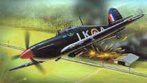 """Hurricane Mk. U.K. RAF """"Cawpore 1"""" IIC"""