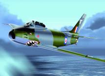 F-86 Sabre U.K. RAF F-4 Canadair