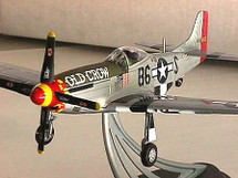 "P-51D Mustang USAAF C. E. ""Bud"" Anderson`s ""Old Crow"" Hand Signed"