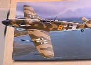 """BF-109 Messerschmitt Luftwaffe 3./JG 4 """"Gustav"""" 6"""