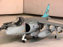 "Harrier U. K. Royal Air Force ""Blue Tail"" 20 SQN GR. MK. 7"