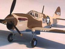 """P-40F Warhawk U.S.A.A.F. """"Dammit"""" Operation """"Torch"""""""
