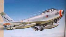 F-86F Sabre Ejercito Del Aire