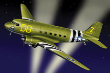 """C-47A USAAF """"The Argonia"""" Transport"""