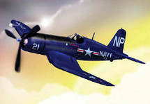 "F4U-5N Corsair US Navy ""Bedcheck Charlie"" Night Fighter"