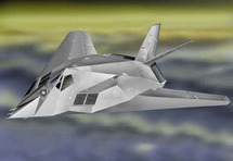 """F-117 Stealth US Air Force """"The Dragons"""