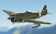 P-47D Thunderbolt French First Air Force
