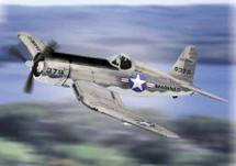 """AU-1 Corsair US Marine Corps """"Quantico"""" Virginia"""