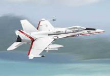 """F/A-18 Hornet US Navy """"Test Pilots School"""""""