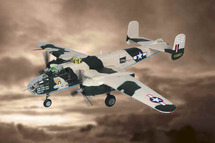 """B-25J Bomber US Army Air Force """"Russell`s Raiders"""""""