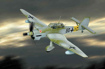 "JU-87 Stuka B Luftwaffe ""Eastern Front"""