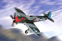 """P-47 M-1-RE Thunderbolt US Army Air Force """"Fire Ball"""" P-47 M-1-RE Thunderbolt"""