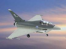 Typhoon UK Test Flight Eurofighter