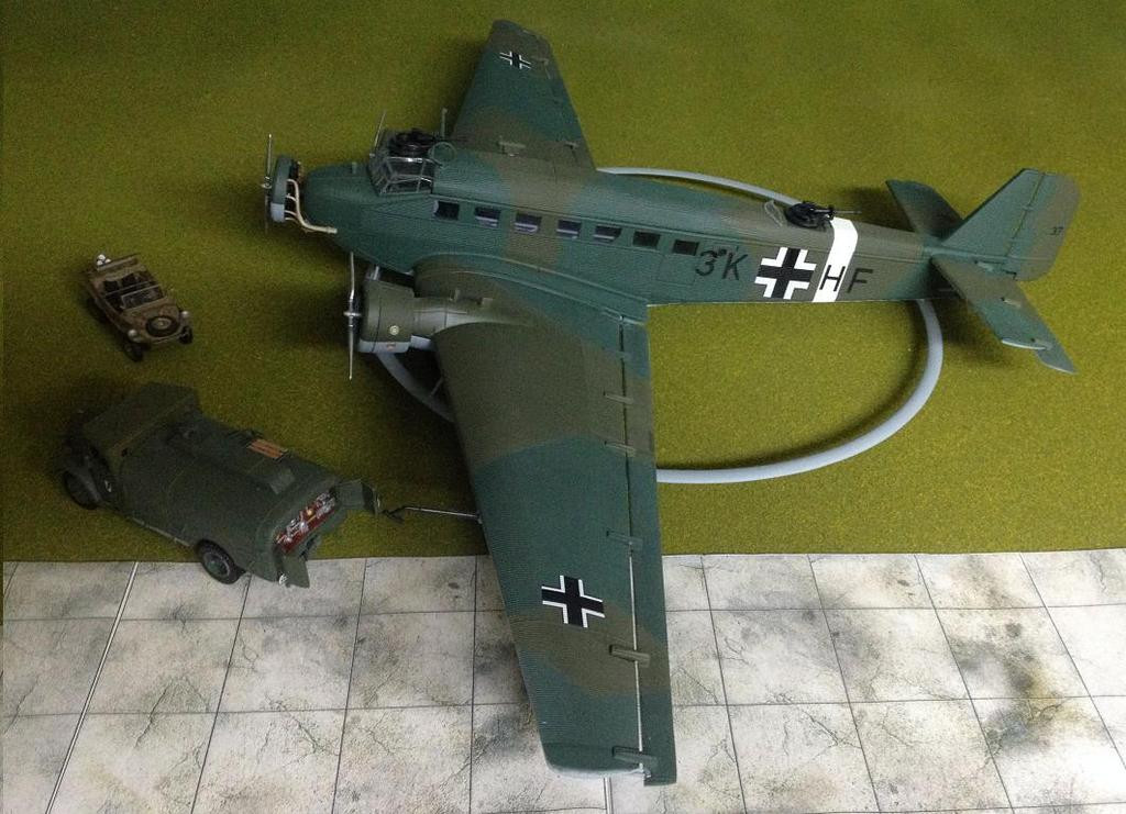 /_53 Altaya 1:144 Bombardiere Bomber Air JUNKERS JU 52//3m GERMANY