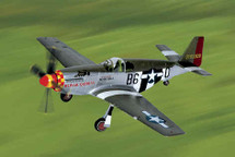 """P-51C Mustang US Army Air Force """"Berlin Express"""" Bill Overstreet Signature Edition"""