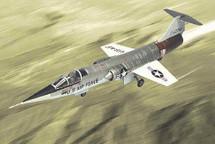 """F-104 Starfighter U.S.A.F. """"Test Pilot`s School"""" Edwards AFB, CA"""