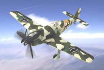 "FW-190 Focke-Wulf Luftwaffe ""Yellow 2"" JG 74, Obstlt. Heinrich Steer"