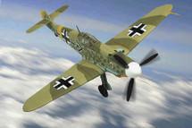 Bf-109 F-2 Messerschmitt Werner Molders - WWII Ace 101 Victories, Russia, 1941