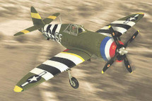 """P-47 Thunderbolt U.S.A.A.F. """"5th Emergency Rescue Sqn."""" Boxted, England 1944"""